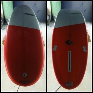 Clever Surfboards - Fisher Grant Model Performance Longboard