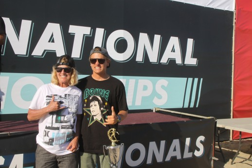 Stoked! Me and NSSA National Director, Janice Aragon.