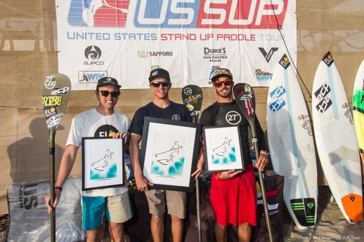 all in the numbers - 27N takes the podium at the US Sup Tour - Open Men's